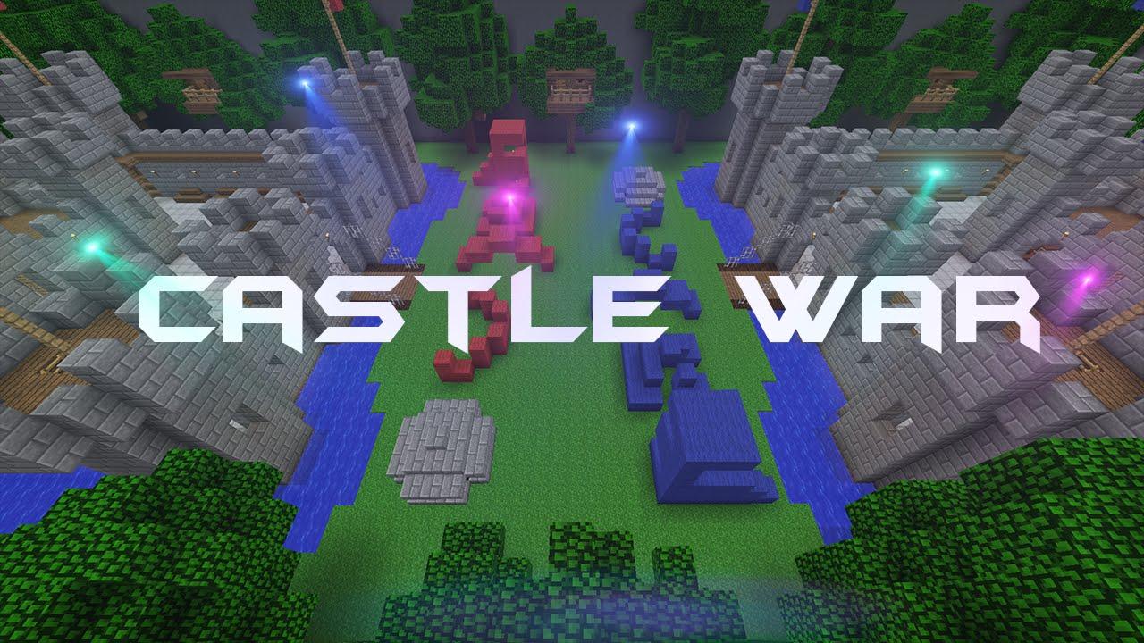Castle War - Minecraft Map (Tarp) - YouTube