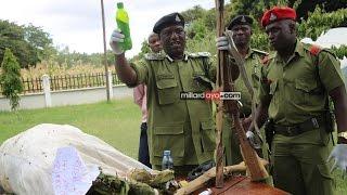 Watu watano waliokamatwa na Polisi Dodoma