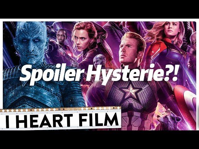 Wieso plötzlich ALLE über SPOILER reden! | I Heart Film #89