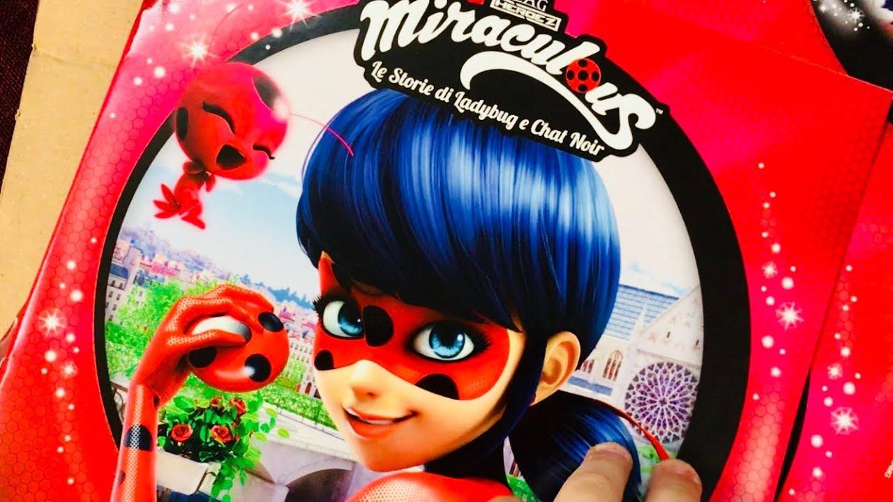 Miraculous Ladybug E Chat Noir Album Da Colorare Con Pennarello
