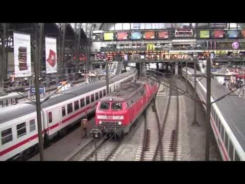 Hamburg Hauptbahnhof (Hamburg main railway station), Germany - 13th October, 2014