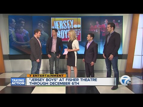 Jersey Boys At Fisher Theatre Through December 6