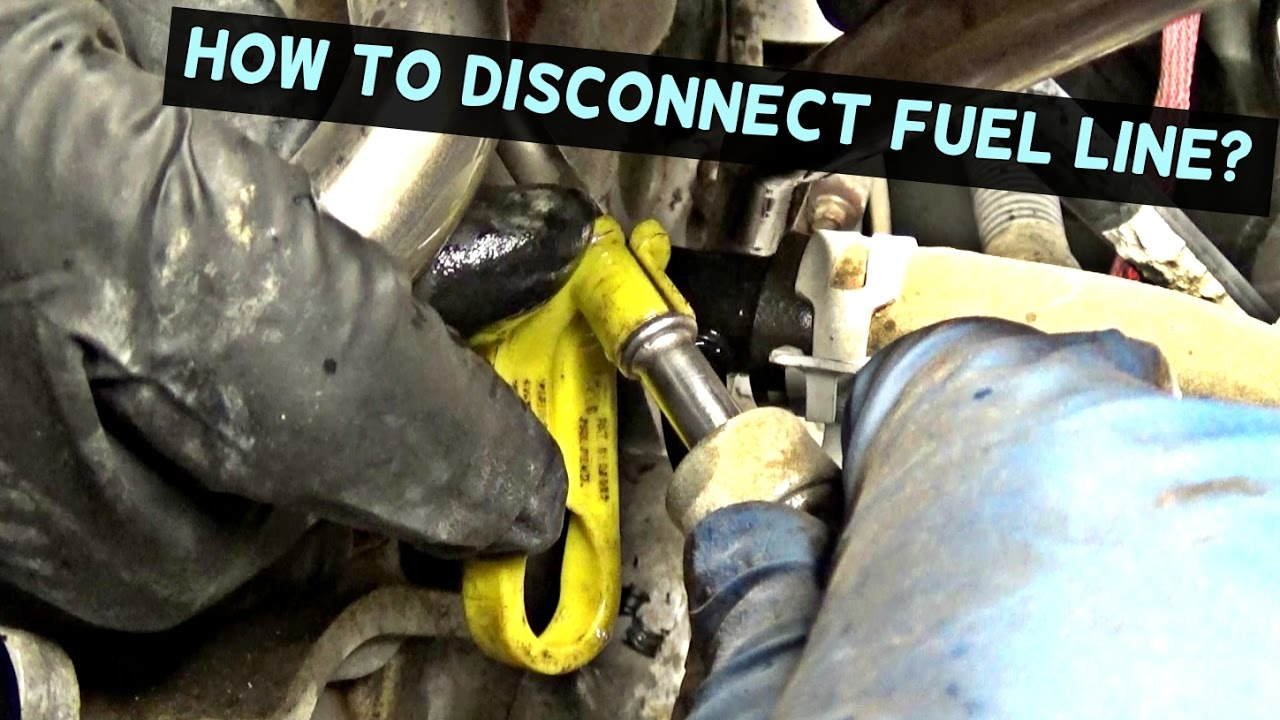 350z Engine Wiring Harness How To Disconnect Fuel Line Fuel Line Removal Tool Youtube