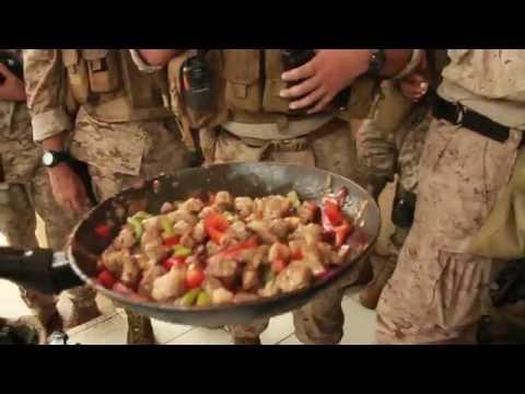 Marines Between War & Cooking