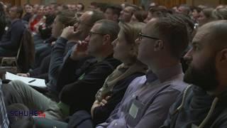 Prof. Dr. Siegfried Jacob (BTE) auf der Händlertagung 2019 | Schuhe24.de