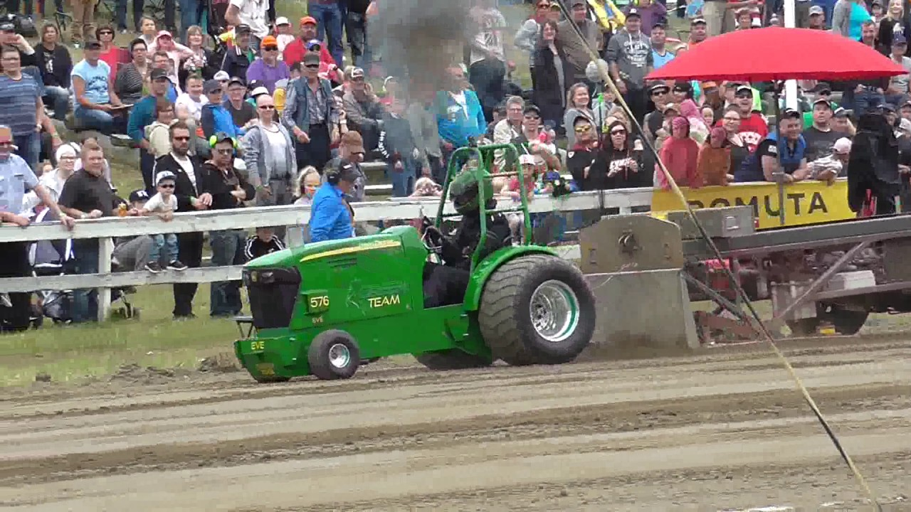 Compact Diesel Garden Pulling Sm Kausikooste 2017 Youtube