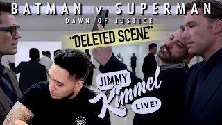 """Deleted Scene from """"Batman v Superman"""" Starring Jimmy Kimmel REACTION!!! thumbnail"""