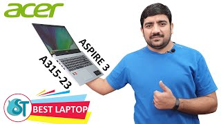 Acer Aspire 3 A315-23 AMD Ryzen 3 Thin and Light Laptop Budget Laptop Unboxing amp Review Hindi