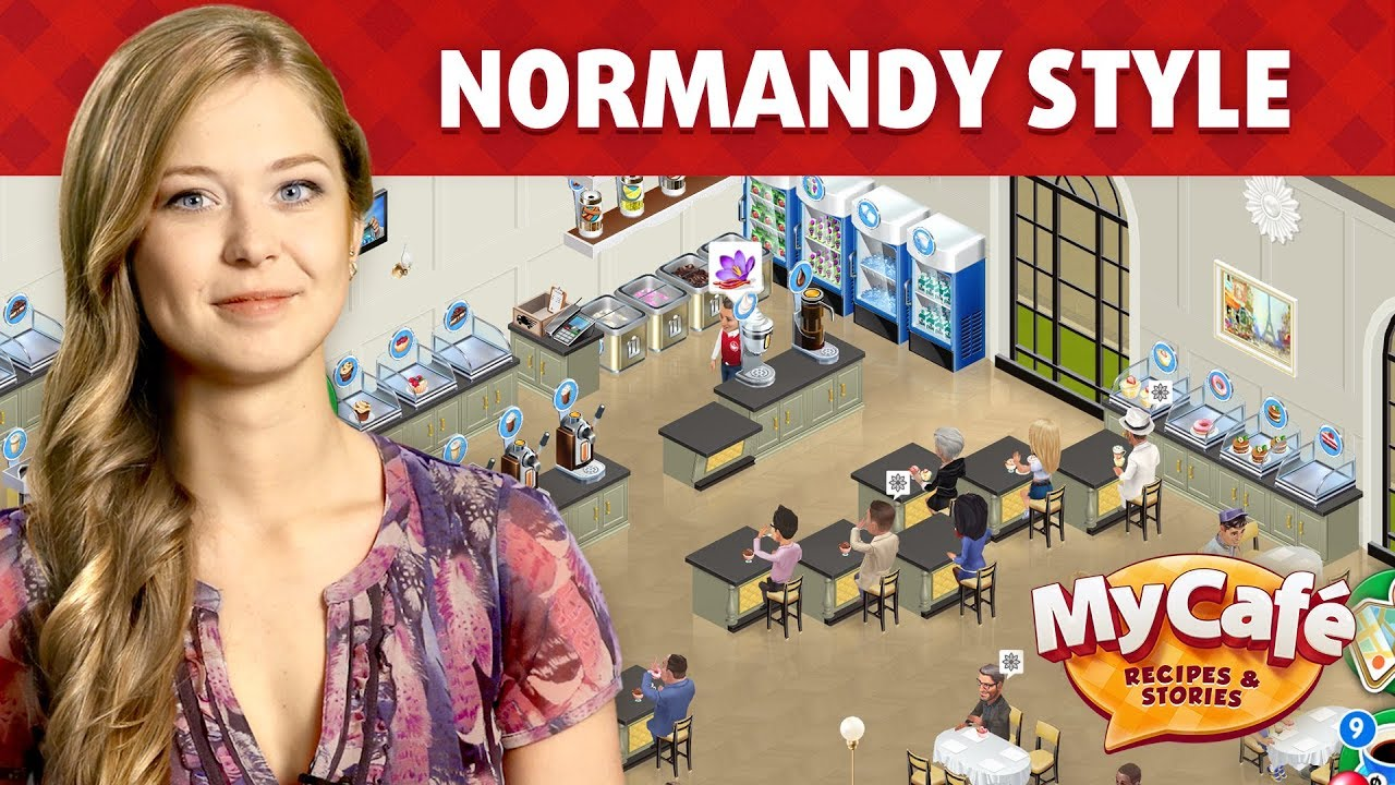 my cafe in normandy style youtube. Black Bedroom Furniture Sets. Home Design Ideas