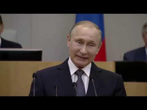 Путин о войне
