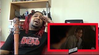 the walking dead season 7 episode 1 death reaction