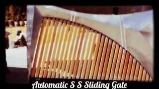 Automatic S S Sliding Gate