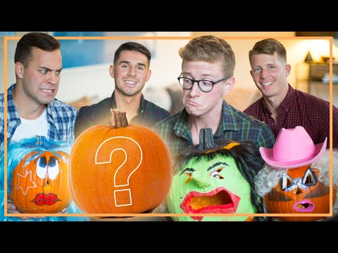 Carving Pumpkins Into Drag Queens (ft. The Gays)