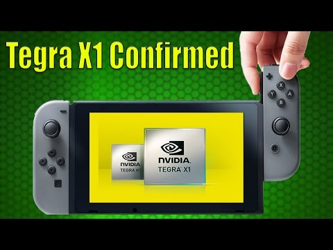 NINTENDO SWITCH CONFIRMED TO BE USING STANDARD TEGRA X1 SOC