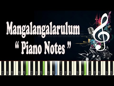 Mangalangalarulum (Kshanakathu) Piano Notes & Tutorials