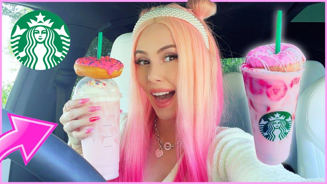 Making My Own Starbucks Secret Menu Drink