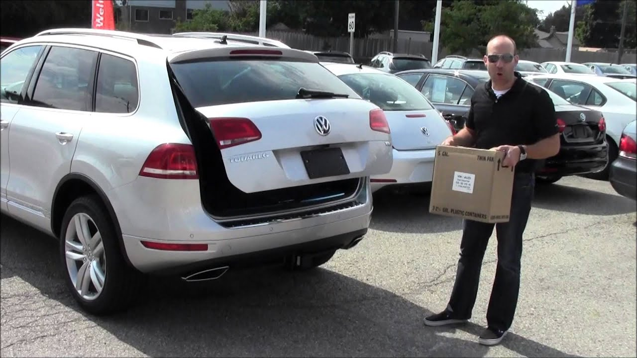 2014 Vw Touareg Easy Open Power Tailgate With Robert