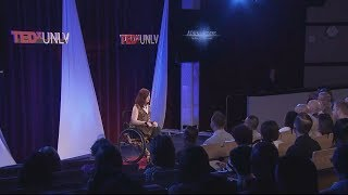 The relativity of achievement: Athena Stevens at TEDxUNLV