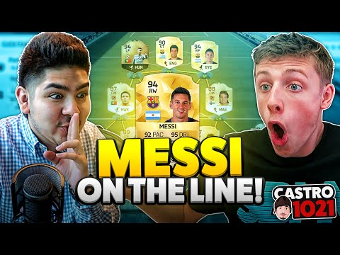 MESSI ON THE LINE VS WROETOSHAW! FIFA 16 ULTIMATE TEAM