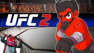 "EA UFC 2 | ""Getting My  F*CKING Ass Beat!""(RIP Win-Streak!) (Middleweight Career) (EP4)"