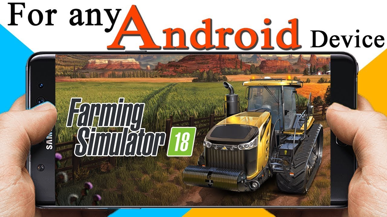 farming simulator 18 android download free