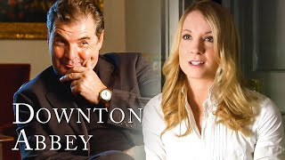 Joanne Froggatt and Brendan Coyle as Mrs and Mr Bates | Downton Abbey