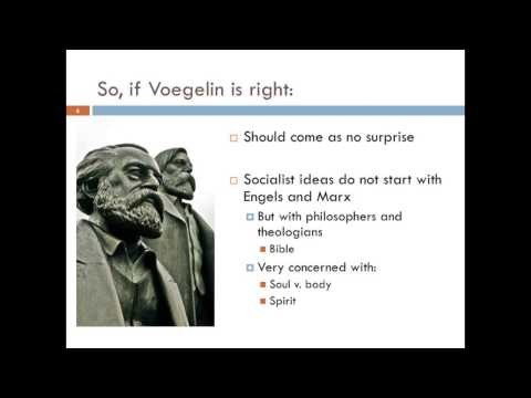 Socialism: Eric Voegelin, Thomas More, and Robert Owen (Part 1)