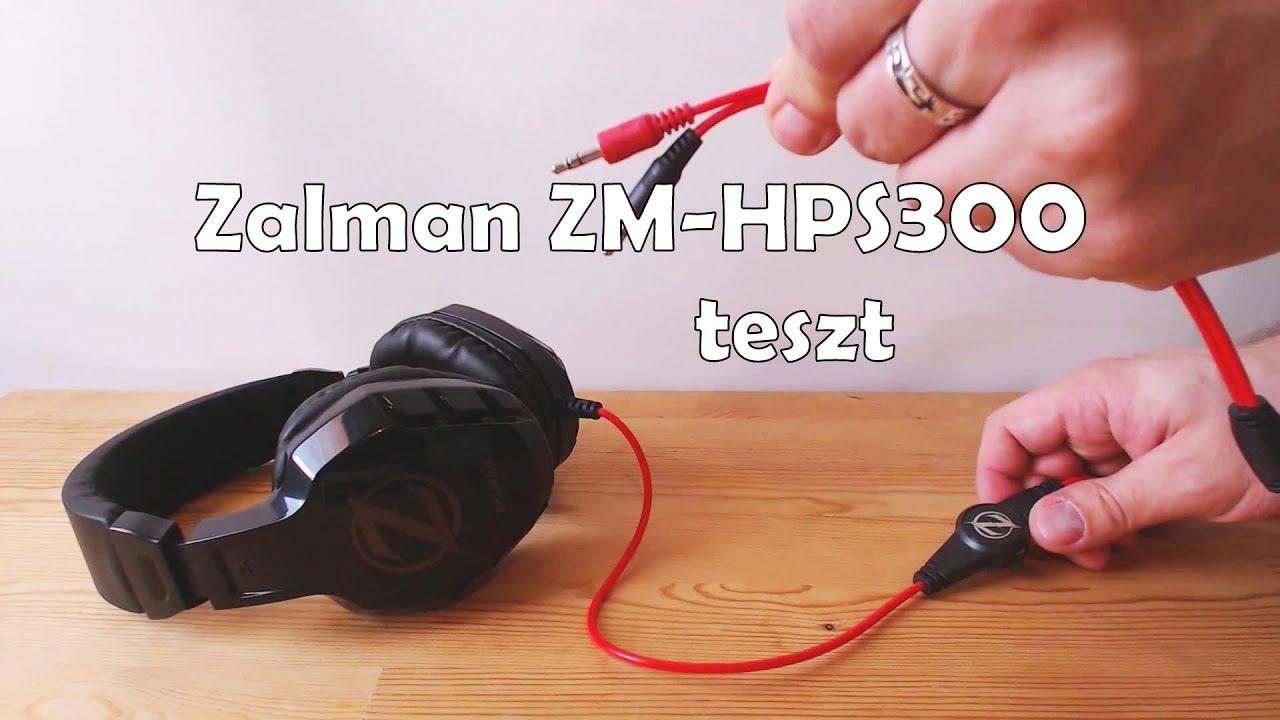 Zalman ZM-HPS300 teszt  HUN  - YouTube d8dc310e4b