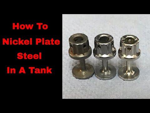 How To Nickel Plate On To Steel, tank plating nickel, nickel plating,