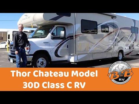 Thor Chateau Model 30D Class C with Bunks (32') RV Walkthrough