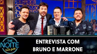 Entrevista com Bruno e Marrone | The Noite (26/09/19)