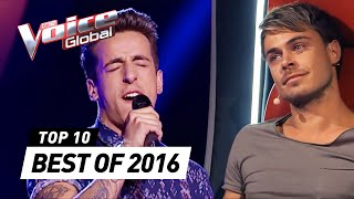 Video TOP 10 | BEST 'Blind Auditions' of 2016 | The Voice Global download MP3, 3GP, MP4, WEBM, AVI, FLV September 2017