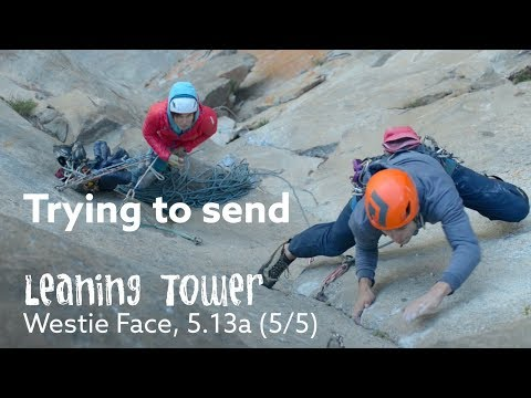 BIG-GOAL TICK 🚀  - LEANING TOWER FREE (5.13a)
