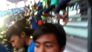 Bonek dan viking huru hara cikampek #bungtomo