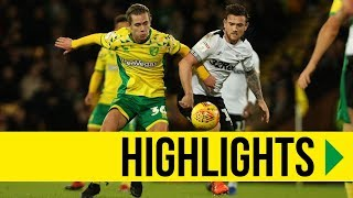 HIGHLIGHTS: Norwich City 3-4 Derby County