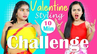 Valentine Special 10 minute DIY Styling Challenge | DIYQueen