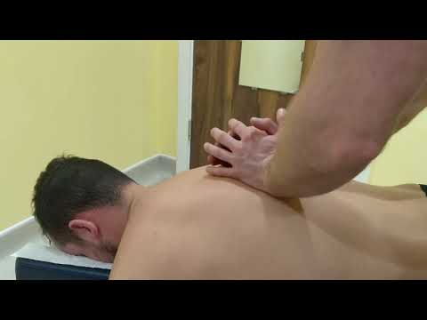 RELIEVING Upper Back Chiropractor Adjustment - Thoracic Spine | Pro Chiro London Chiropractor