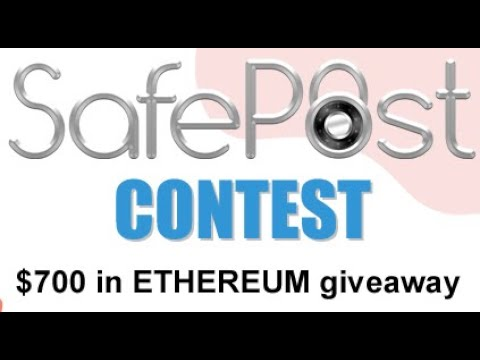 $700 in Ethereum to win & 1000 STAMP tokens voor signing up + referral