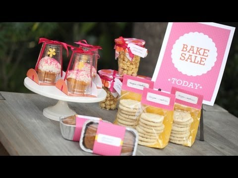 How to Package Food For a Bake Sale