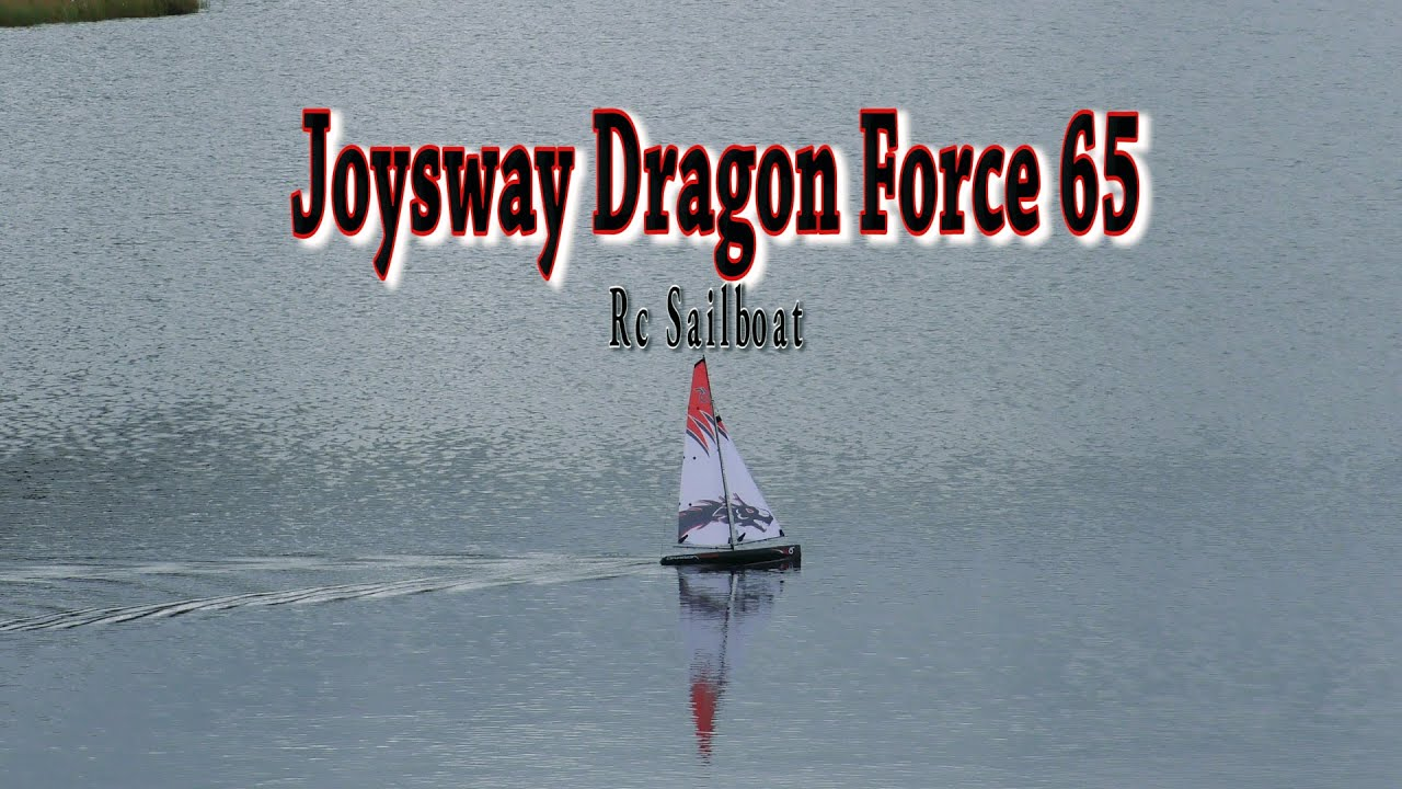 Joysway Dragon Force 65  2,4 ghz Sailboat - Sailing in calm wind