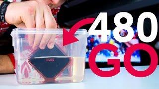 480 Go à l'Eau ?! - SanDisk SSD Portable