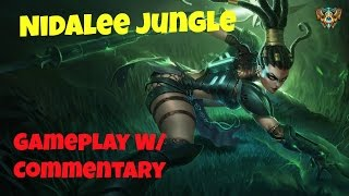 Unranked To Challenger - Nidalee Jungle Commentary (Diamond MMR)   League Of Legends
