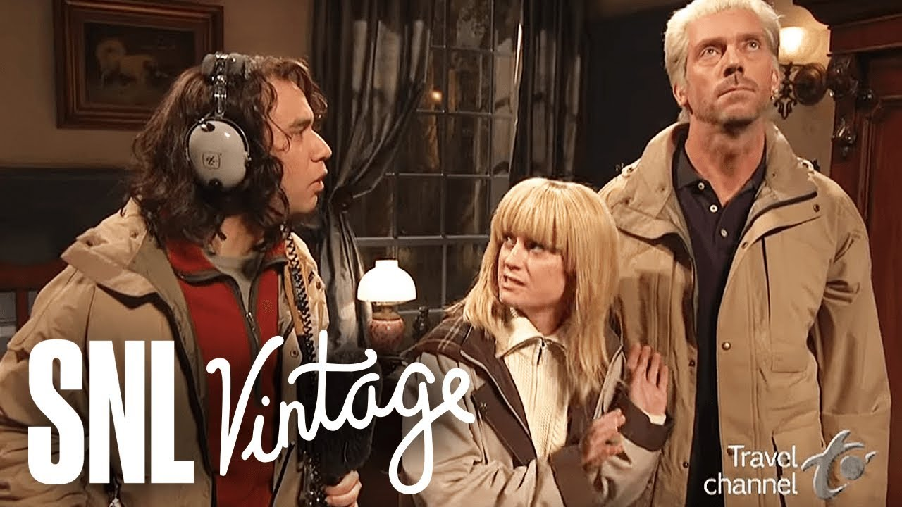 Most Haunted Hugh Laurie Snl Youtube