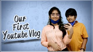 Our First Youtube Vlog || Sahithi and Vinni || Sekhar Studio