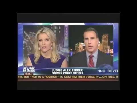 Judge Alex Ferrer interviewed by Megyn Kelly (Mike Brown shooting) Aug 27 2014