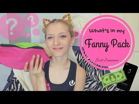 What to Bring to a Rave - What's in my Fanny Pack? - Rave/Festival Essentials