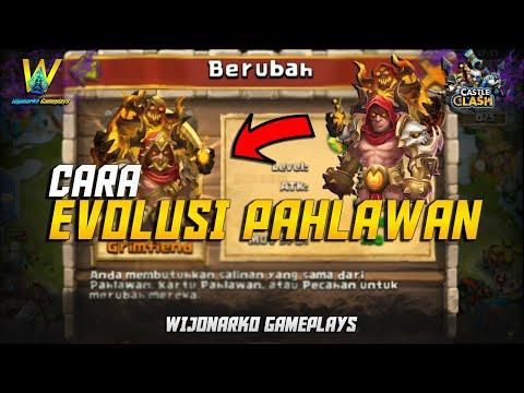 Cara Evolusi Pahlawan || Konflik Kastil Indonesia