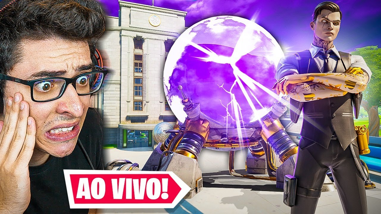 AGORA! EVENTO AO VIVO FINAL DA TEMPORADA 2 DO FORTNITE!!