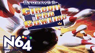 Brunswick Circuit Pro Bowling - Nintendo 64 Review - HD