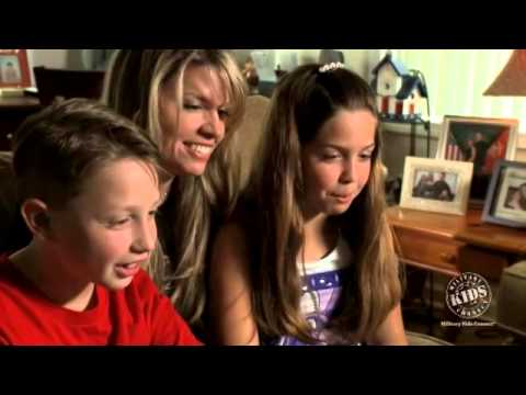 Video Chat Connects Military Family